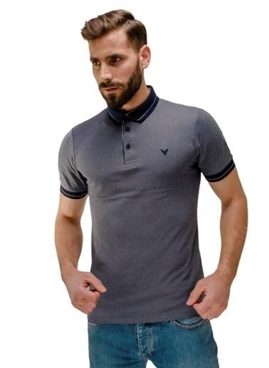 Comienzo Tişört İndigo
